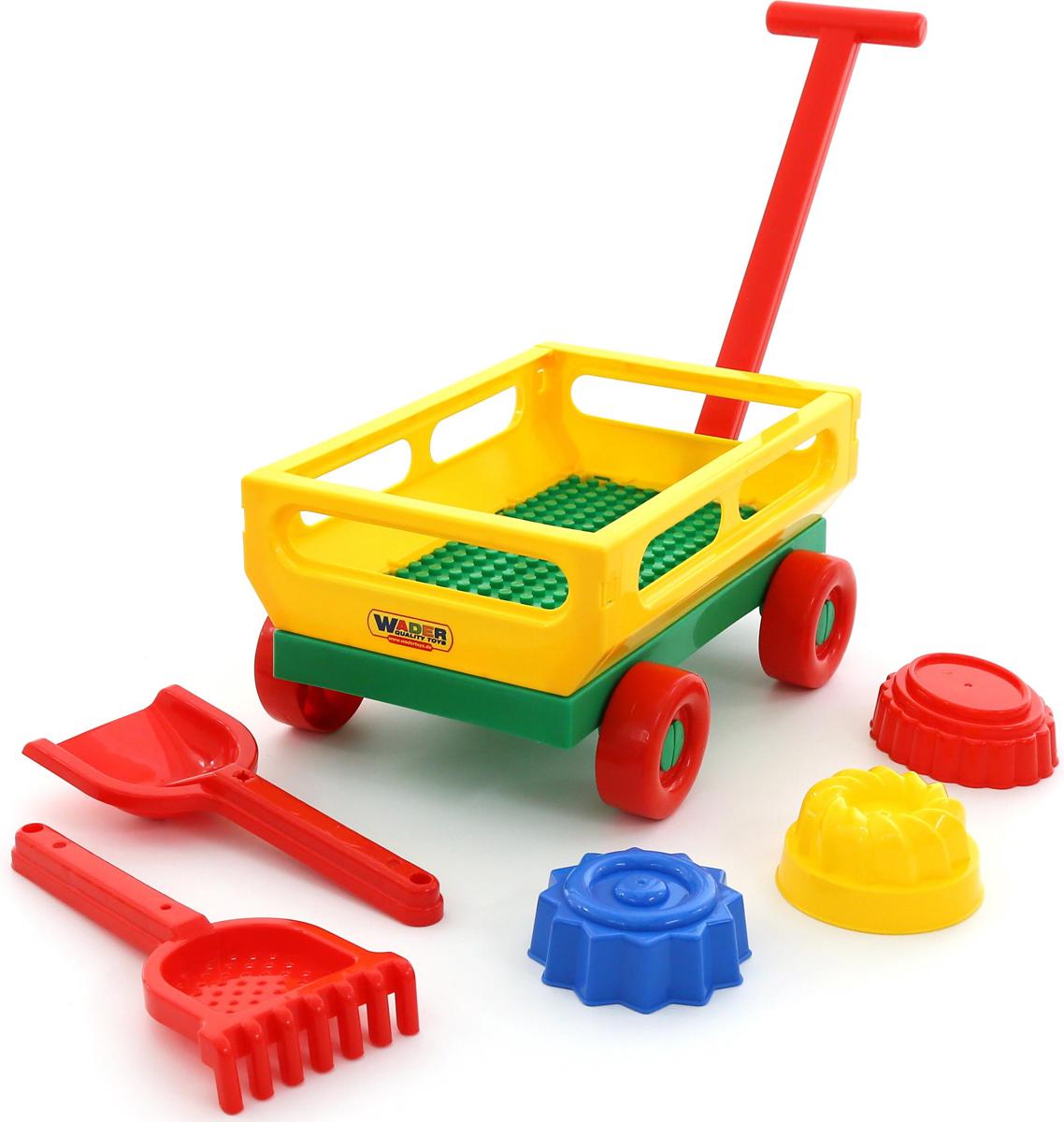 Полесье Набор игрушек для песочницы №481 - Игры на открытом воздухе