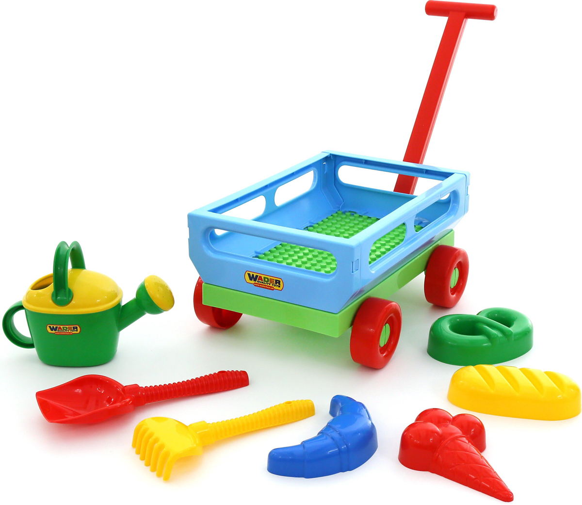 Полесье Набор игрушек для песочницы №484 - Игры на открытом воздухе