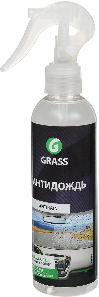 Средство для стекол и зеркал Grass Антидождь, 250 млIRK-503Средство Grass Антидождь - это водо- и грязеотталкивающее средство для стекол, зеркал, фар автомобиля и любых других стеклянных поверхностей. Заполняет микропоры и микротрещины стекла, образуя невидимую пленку. Дождь и грязь легко скатываются с поверхности, в зимнее время препятствует образованию обледенения. При скорости движения выше 80 км/ч снижается необходимость пользоваться щетками стеклоочистителя. Стекло дольше остается чистым. Товар сертифицирован.