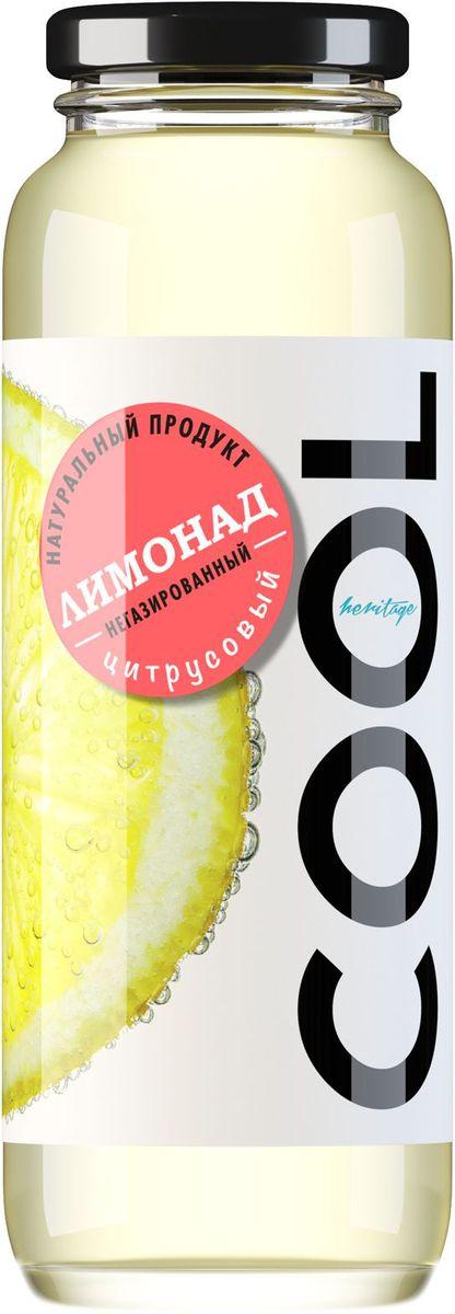 Cool Heritage напиток негазированный лимонад цитрус-грейпфрут, 0,25 л19.6975Негазированные напитки Cool созданы для современного ритма жизни-их оригинальные вкусы не просто утоляют жажду, но и подарят отличное настроение, придавая заряд сил и бодрости. Лимонады и морсы упакованы в стеклянную бутылку, из которой удобно пить на ходу, в транспорте или положить в дорожную сумку, а может, и оставить в холодильнике, чтобы получить прохладный напиток для по -настоящему жаркого дня. Натуральный, бодрящий, утоляющий жажду напиток с тонким ароматом цитрусовых. Лимонад  Cool полон свежести и заряжает отличным настроением.