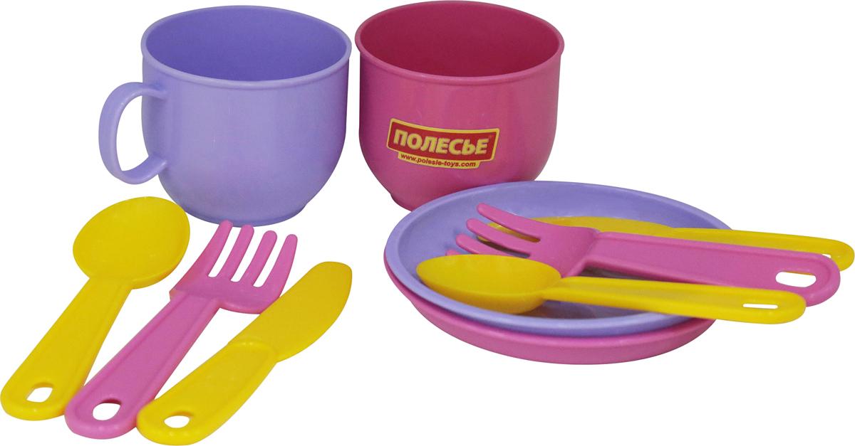 Полесье Набор игрушечной посуды Минутка на 2 персоны