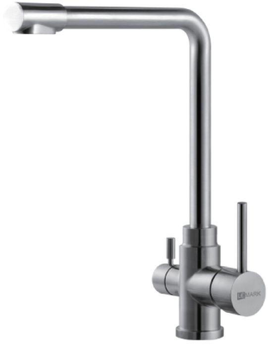Смеситель Lemark Expert, для кухни, с подключением к фильтру с питьевой водой. LM5060SLM5060SEXPERT LM5060S.Смеситель для кухни с подключением к фильтру с питьевой водой.Комплектация:• аэратор для водопроводной воды Neoperl® Perlator®• аэратор для питьевой воды Neoperl® Perlator®• керамический картридж Sedal® 35 мм• для крана с питьевой водой: кран-букса с керамическими пластинами (угол поворота – 90 градусов)• гибкая подводка 1/2 50 см• переходник для подключения шланга от фильтра с питьевой водой• металлические рукояткиСмесители LEMARK рассчитаны на 30 лет комфортной эксплуатации.В них соединены современные технологии производства и продуманный конструктив. Установлены комплектующие от известных мировых производителей, являющихся лидерами в своих сегментах:• немецкие аэраторы Neoperl – устройства, регулирующие расход воды;• керамические картриджи и кран-буксы испанской фирмы Sedal.Вся продукция LEMARK устанавливается не только в частном секторе, но и с успехом эксплуатируется в офисах Hewlett-Packard, Walt Disney Studios Sony Pictures Releasing, Mail.ru Group, а также в новом терминале аэропорта «Толмачево» в Новосибирске.Сегодня на смесители LEMARK установлен беспрецедентный 10-летний период бесплатного сервисного обслуживания. Данное условие действует, даже если монтаж изделий производится покупателями cамостоятельно.Сервисная сеть насчитывает 90 гарантийных мастерских по России и странам СНГ.