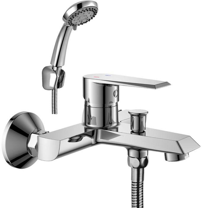 Смеситель Rossinka, для ванны. RS28-31RS28-31RS28-31. Смеситель для ванны с монолитным изливом.Комплектация:• пластиковый аэратор с функцией легкой очистки• керамический картридж 35 мм• кнопочный переключатель• аксессуары в комплекте (шланг 1,5 м, настенное крепление, 5-функциональная лейка с функцией легкой очистки)• присоединительная группа (эксцентрики с отражателями) для вертикального крепления• металлическая рукояткаСмесители Rossinka были разработаны российским институтом «НИИ Сантехники», что позволило произвести продукт, максимально подходящий под условия эксплуатации в нашей стране (жесткая вода, частые перепады температуры и напора воды).«НИИ Сантехники» рекомендует установку смесителей Rossinka в жилых помещениях, в детских, лечебно-профилактических, дошкольных и школьных учреждениях.Наличие международного сертификата ISO 9001 гарантирует стабильность качества выпускаемой продукции.Сервисная сеть насчитывает 90 гарантийных мастерских по России и странам СНГ.Плановый срок службы смесителей 30 лет.Гарантия на смесители 7 лет.