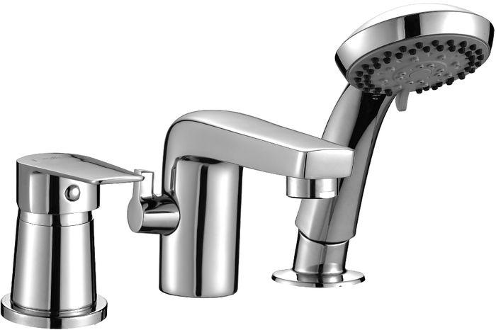 Смеситель Rossinka, на борт ванны, на 3 отверстия. S35-39S35-39S35-39. Смеситель на борт ванны на 3 отверстия, с монолитным изливом.Комплектация:• пластиковый аэратор с функцией легкой очистки• керамический картридж 35 мм• переключатель с керамическими пластинами• аксессуары в комплекте (шланг 2 м, настенное крепление, 5-функциональная лейка с функцией легкой очистки)• гибкая подводка 40 см – 2 шт.• соединительный шланг – 2 шт.• присоединительная группа для горизонтального крепления – 2 комплекта• металлическая рукояткаСмесители Rossinka были разработаны российским институтом «НИИ Сантехники», что позволило произвести продукт, максимально подходящий под условия эксплуатации в нашей стране (жесткая вода, частые перепады температуры и напора воды).«НИИ Сантехники» рекомендует установку смесителей Rossinka в жилых помещениях, в детских, лечебно-профилактических, дошкольных и школьных учреждениях.Наличие международного сертификата ISO 9001 гарантирует стабильность качества выпускаемой продукции.Сервисная сеть насчитывает 90 гарантийных мастерских по России и странам СНГ.Плановый срок службы смесителей 30 лет.Гарантия на смесители 7 лет.