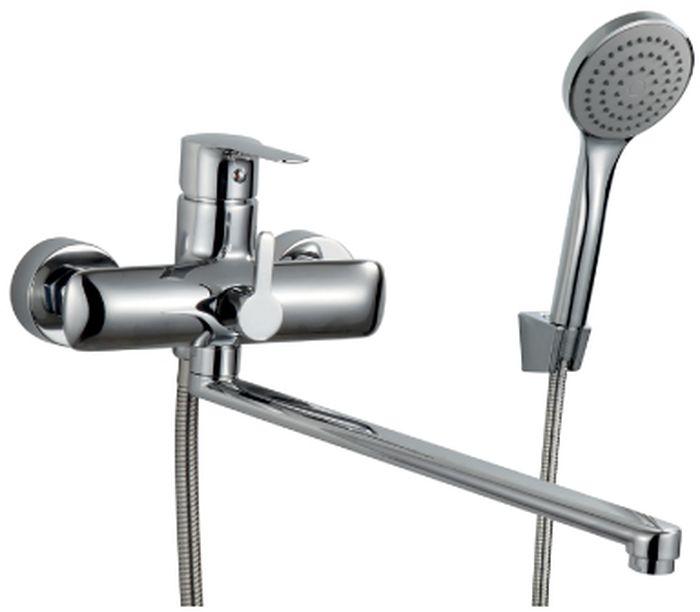 Смеситель Rossinka, для ванны. V35-32V35-32V35-32. Смеситель универсальный с плоским поворотным изливом 350 мм.Комплектация:• пластиковый аэратор с функцией легкой очистки• керамический картридж 35 мм• переключатель с керамическими пластинами• аксессуары в комплекте (шланг 1,5 м, настенное крепление, 1-функциональная лейка с функцией легкой очистки)• присоединительная группа (эксцентрики с отражателями) для вертикального крепления• металлическая рукояткаСмесители Rossinka были разработаны российским институтом «НИИ Сантехники», что позволило произвести продукт, максимально подходящий под условия эксплуатации в нашей стране (жесткая вода, частые перепады температуры и напора воды).«НИИ Сантехники» рекомендует установку смесителей Rossinka в жилых помещениях, в детских, лечебно-профилактических, дошкольных и школьных учреждениях.Наличие международного сертификата ISO 9001 гарантирует стабильность качества выпускаемой продукции.Сервисная сеть насчитывает 90 гарантийных мастерских по России и странам СНГ.Плановый срок службы смесителей 30 лет.Гарантия на смесители 7 лет.