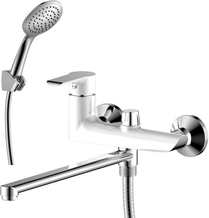 Смеситель Rossinka, для ванны, универсальный. W35-32W35-32W35-32. Смеситель универсальный с плоским поворотным изливом 320 мм.Комплектация:• пластиковый аэратор с изменяемым углом подачи воды• керамический картридж 35 мм• переключатель с керамическими пластинами• аксессуары в комплекте (шланг 1,5 м, 1-функциональная лейка с функцией легкой очистки, 3-х позиционный держатель для лейки)• присоединительная группа (эксцентрики с отражателями) для вертикального крепления• металлическая рукояткаСмесители Rossinka были разработаны российским институтом «НИИ Сантехники», что позволило произвести продукт, максимально подходящий под условия эксплуатации в нашей стране (жесткая вода, частые перепады температуры и напора воды).«НИИ Сантехники» рекомендует установку смесителей Rossinka в жилых помещениях, в детских, лечебно-профилактических, дошкольных и школьных учреждениях.Наличие международного сертификата ISO 9001 гарантирует стабильность качества выпускаемой продукции.Сервисная сеть насчитывает 90 гарантийных мастерских по России и странам СНГ.Плановый срок службы смесителей 30 лет.Гарантия на смесители 7 лет.