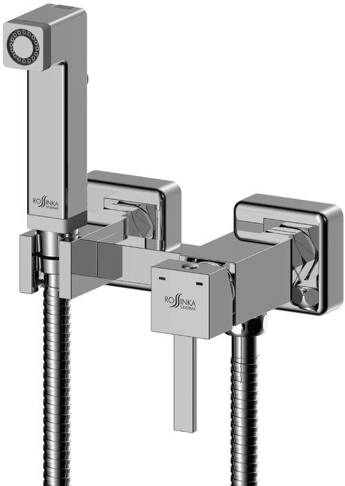 Смеситель Rossinka, с гигиеническим душем. X25-54X25-54X25-54 Смеситель с гигиеническим душем.Комплектация:• керамический картридж 25 мм• аксессуары в комплекте (шланг 1,2 м, лейка для биде с нажимным механизмом)• присоединительная группа (эксцентрики с отражателями) для вертикального крепления• металлическая рукояткаСмесители Rossinka были разработаны российским институтом «НИИ Сантехники», что позволило произвести продукт, максимально подходящий под условия эксплуатации в нашей стране (жесткая вода, частые перепады температуры и напора воды).«НИИ Сантехники» рекомендует установку смесителей Rossinka в жилых помещениях, в детских, лечебно-профилактических, дошкольных и школьных учреждениях.Наличие международного сертификата ISO 9001 гарантирует стабильность качества выпускаемой продукции.Сервисная сеть насчитывает 90 гарантийных мастерских по России и странам СНГ.Плановый срок службы смесителей 30 лет.Гарантия на смесители 7 лет.