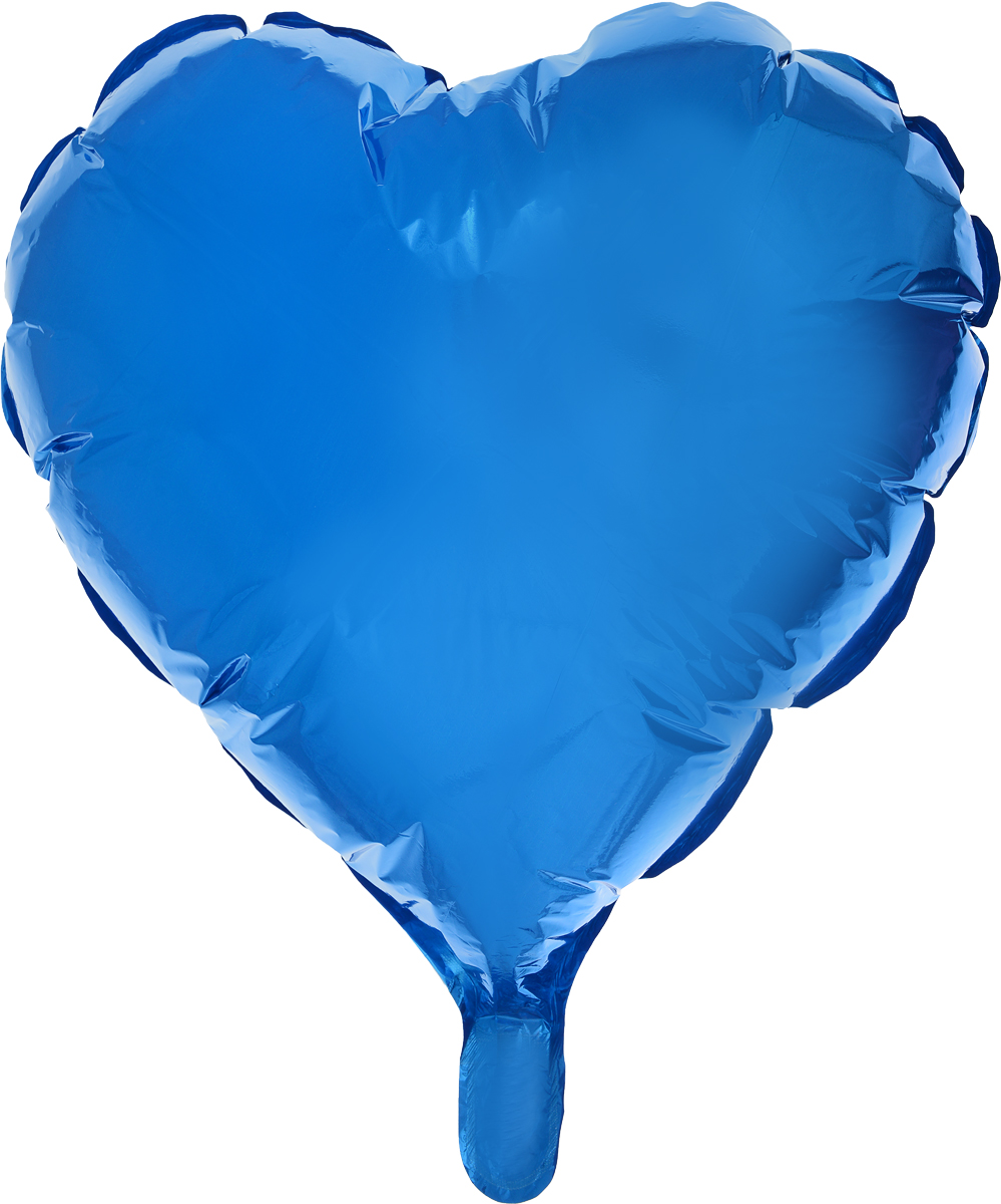 Sima-land Воздушный шарик Сердце 18 цвет синий -  Воздушные шарики
