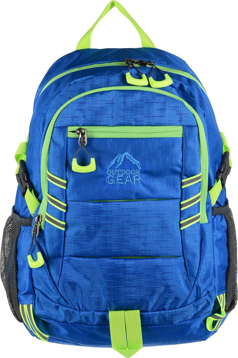 Рюкзак Outdoor, цвет: голубойRivaCase 8460 blackМатериал: 100% полиэстер. Размер:44x28x16 см. Соответствует требованиям ТР ТС 017/2011 О безопасности продукции легкой промышленности.