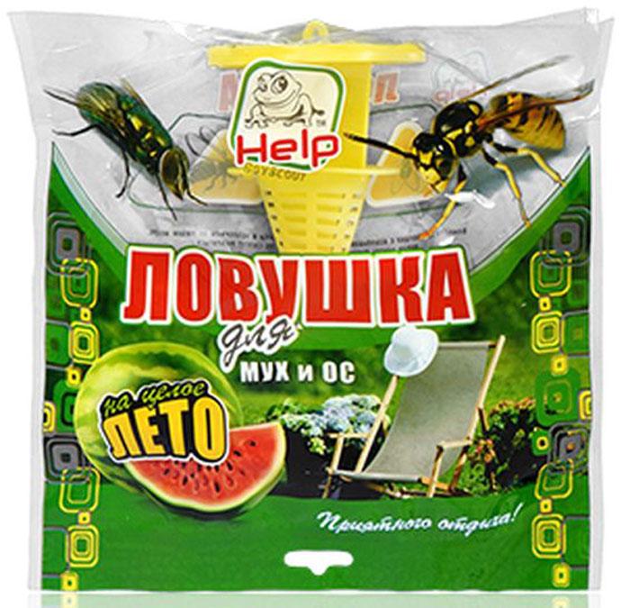 Ловушка HELP, для мух и ос, 21 х 21 см80105