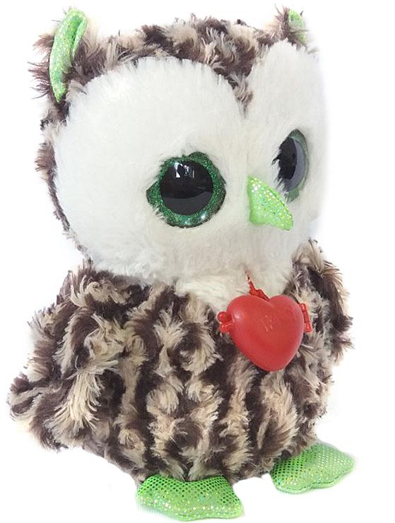 Fancy Мягкая игрушка Сова с кулоном 21 см fancy мягкая игрушка сова с кулоном 21 см