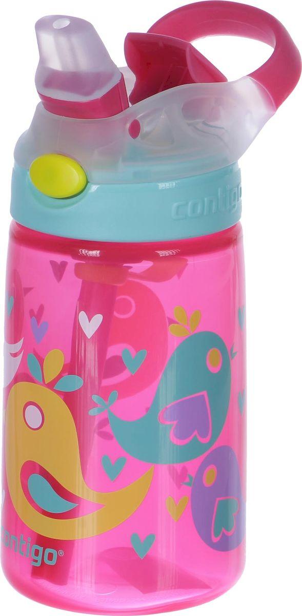 Contigo Детская бутылочка для воды Gizmo Flip цвет розовый 420 млCONTIGO0468Детская бутылочка для воды Contigo Gizmo Flip - это важный аксессуар для ребенка, который позволит аккуратно пить воду, не промочив одежду или салон автомобиля. Удобный выдвижной носик обеспечивает гигиеничность и быстроту доступа к любимому напитку вашего ребенка. Он открывается при нажатии на специальную кнопку на крышке бутылочки. С помощью специальной ручки малыш получит возможность с удобством носить её, а также вешать на рюкзак, пояс или спортивный тренажер. Бутылочка изготовлена из экологически чистого пластика, который не содержит в своём составе Бисфенол А, не впитывает запахи и обладает защитой от окрашивания. Удобная поилка с крышкой-непроливайкой AUTOSPOUT® в дополнение к эргономичной форме и яркой расцветке делают данную бутылку незаменимой в дороге.