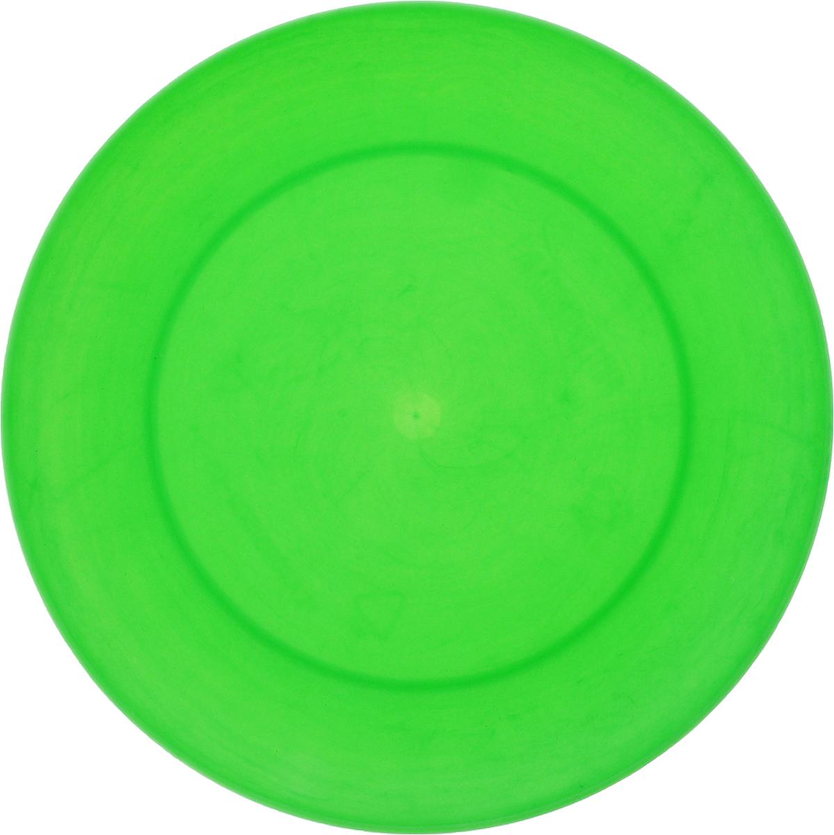 Тарелка Gotoff, цвет: зеленый, диаметр 20,3 смWTC-271_зеленыйТарелка Gotoff изготовлена из цветного пищевого полипропилена и предназначена для холодной и горячей пищи. Выдерживает температурный режим в пределах от -25°С до +110°C. Посуду из пластика можно использовать в микроволновой печи, но необходимо, чтобы нагрев не превышал максимально допустимую температуру. Удобная, легкая и практичная посуда для пикника и дачи поможет сервировать стол без хлопот!Диаметр тарелки (по верхнему краю): 20,3 см. Высота тарелки: 2 см.