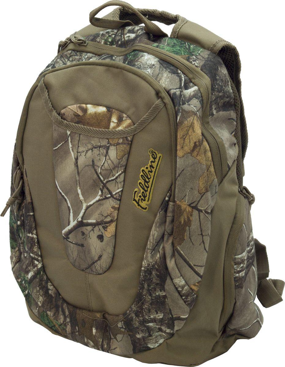 Рюкзак для охоты Fieldline Montana Back Pack, цвет: камуфляж, светло-коричневый020968591341Рюкзак Montana Back Pack 44.45x30.48x18.42cm QCB155FLMontana Backpac. Размеры: 44.45cm H x 30.48cm W x 18.42cm . Рюкзак для ходовых охот выполненный из прочной, малошуршащей ткани. Центральное отделение на молнии. 2 боковых кармана для снаряжения.Фронтальный карман с 3 секционным органайзером. Фронтальный внешний отсек для быстрого доступа к необходимому снаряжению. Профилированные плечевые ремни . Бесшумные пулеры на молнии