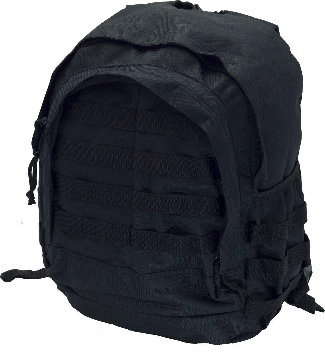 """Рюкзак для охоты Fieldline Patrol Day Pack, цвет: черный20968600319Рюкзак Patrol Day Pack 49,5 cm x 27,5 cm x 18,5 cm TPB007Размеры: 49,5 cm x 27,5 cm x 18,5 cm Рюкзак для охоты выполненный из прочной, малошуршащей ткани Центральный отсек на молнии с возможностью открытия на ? длины Профилированная спинка для комфортного ношения Боковой карман для питьевой бутылки Фронтальный карман с 3-секционным органайзером Бесшумные пулеры на молнии """"Y образные плечевые ремни с центральной регулировочной поперечной утяжкойБоковые стороны рюкзака имеют стропы для крепления дополнительного снаряжения"""
