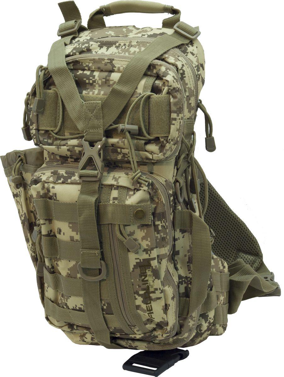 Рюкзак для охоты Fieldline Roe Sling Pack, цвет: камуфляж, зеленый20968588884Рюкзак Roe Sling Pack TPB006FLTТактический рюкзак на одной лямке выполненный из особо прочной ткани.Для сотрудников силовых структур СШАБольшой центральный отсек с многочисленными внутренними карманами.Два внешних кармана-органайзера Возможность крепления навесного снаряжения
