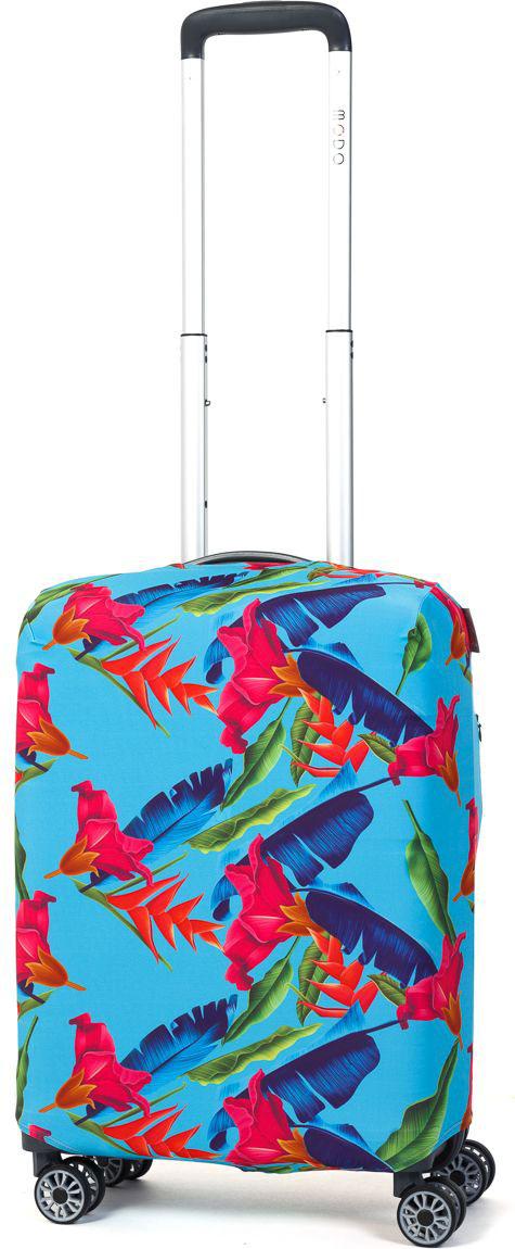 Чехол для чемодана Mettle Askada, размер S (высота чемодана: 50-55 см)LK-21000020Модный универсальный чехол для чемодана METTLE, подходит для чемоданов ручной клади размера S (высота: 50-55 см, ширина: 35-40 см, глубина: 20-25 см). Он выполнен из спандекса. Эластичная ткань со специальной UF-водоотталкивающей пропиткой лучше защитит ваш чемодан от грязи и солнечных лучей. Картинка чехла надолго останется яркой и красочной. Две боковые потайные молнии, усиленные дополнительными швами, предохраняют боковые стороны и ручки чемодана от царапин и легких повреждений. Резинка с удобной соединяющей застёжкой надёжно фиксирует чехол на чемодане. Нижняя молния имеет автоматический замок бегунка. В швы багажного чехла дополнительно вшит эластичный жгут для лучшей усадки и фиксации на чемодан. Вся фурнитура изготовлена в фирменном дизайне METTLE.Чехол упакован в функциональный мешочек из аналогичной ткани, который вы сможете использовать для хранения и переноски предметов небольшого размера.