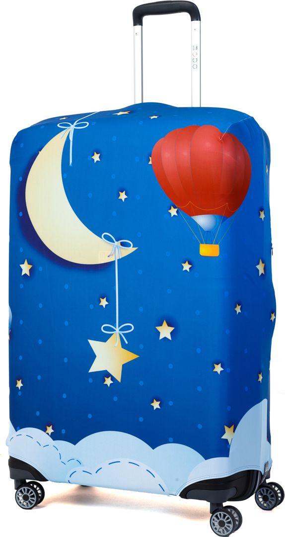 Чехол для чемодана Mettle Good Night, размер L (высота чемодана: 75-82 см)LK-21000037Модный универсальный чехол для чемодана METTLE, подходит для больших чемоданов размера L и даже XL (высота: 75-82 см, ширина: 46-54 см, глубина: 29-36 см). Он выполнен из спандекса. Эластичная ткань со специальной UF-водоотталкивающей пропиткой лучше защитит ваш чемодан от грязи и солнечных лучей. Картинка чехла надолго останется яркой и красочной. Две боковые потайные молнии, усиленные дополнительными швами, предохраняют боковые стороны и ручки чемодана от царапин и легких повреждений. Резинка с удобной соединяющей застёжкой надёжно фиксирует чехол на чемодане. Нижняя молния имеет автоматический замок бегунка. В швы багажного чехла дополнительно вшит эластичный жгут для лучшей усадки и фиксации на чемодан. Вся фурнитура изготовлена в фирменном дизайне METTLE.Чехол упакован в функциональный мешочек из аналогичной ткани, который вы сможете использовать для хранения и переноски предметов небольшого размера.