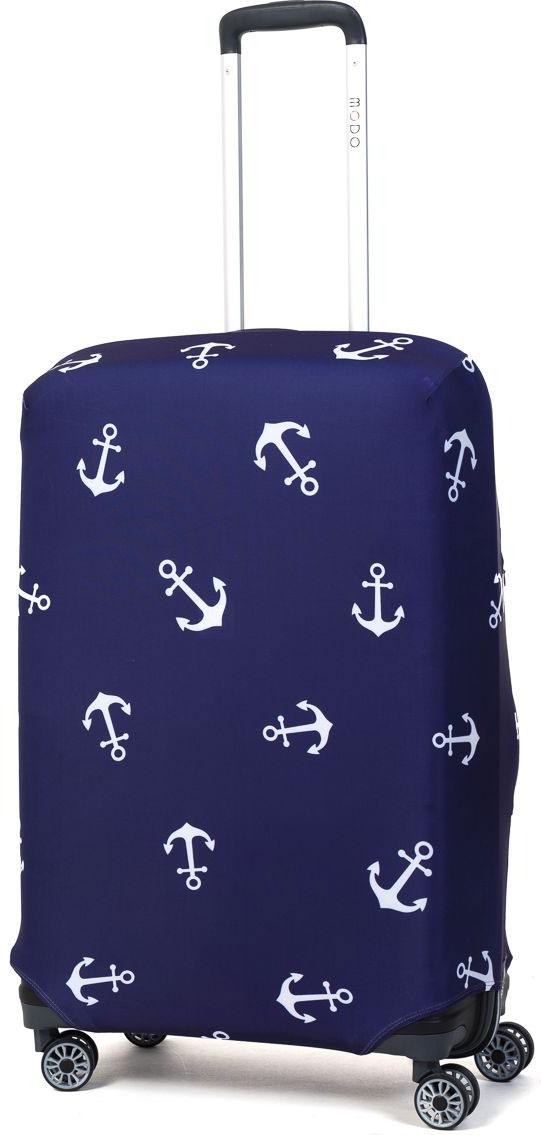 Чехол для чемодана Mettle Sailor, размер M (высота чемодана: 65-75 см)LK-21000045Модный универсальный чехол для чемодана от компании METTLE, подходит для средних чемоданов размера М (высота: 65-75СМ, ширина: 40-46СМ, глубина: 25-32СМ). Эластичная ткань со специальной UF-водоотталкивающей пропиткой лучше защитит ваш чемодан от грязи и солнечных лучей. Картинка чехла надолго останется яркой и красочной. Две боковые потайные молнии, усиленные дополнительными швами, предохраняют боковые стороны и ручки чемодана от царапин и легких повреждений. Резинка с удобной соединяющей застёжкой надёжно фиксирует чехол на чемодане. Нижняя молния имеет автоматический замок бегунка. В швы багажного чехла дополнительно вшит эластичный жгут для лучшей усадки и фиксации на чемодан. Вся фурнитура изготовлена в фирменном дизайне METTLE.Дополнительно мы упаковали чехол для чемодана METTLE в функциональный мешочек из аналогичной ткани, который вы сможете использовать для хранения и переноски предметов небольшого размера. Забудьте об одноразовой багажной плёнке, чехол для чемодана METTLE