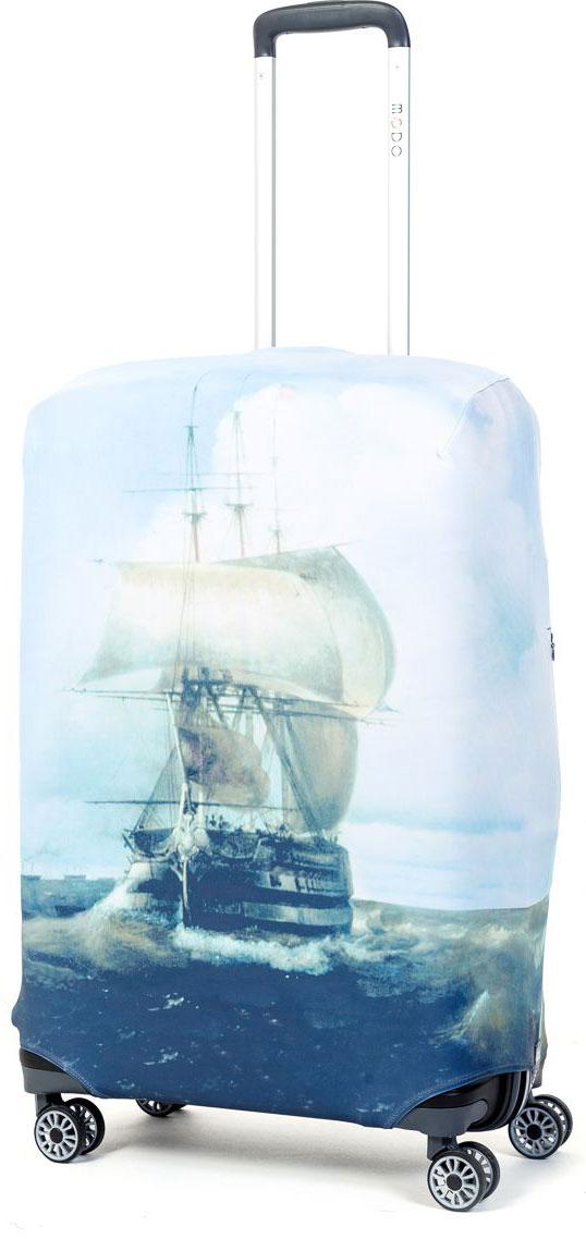 Чехол для чемодана Mettle Harbour, размер M (высота чемодана: 65-75 см)LK-21000063Модный универсальный чехол для чемодана от компании METTLE, подходит для средних чемоданов размера М (высота: 65-75СМ, ширина: 40-46СМ, глубина: 25-32СМ). Эластичная ткань со специальной UF-водоотталкивающей пропиткой лучше защитит ваш чемодан от грязи и солнечных лучей. Картинка чехла надолго останется яркой и красочной. Две боковые потайные молнии, усиленные дополнительными швами, предохраняют боковые стороны и ручки чемодана от царапин и легких повреждений. Резинка с удобной соединяющей застёжкой надёжно фиксирует чехол на чемодане. Нижняя молния имеет автоматический замок бегунка. В швы багажного чехла дополнительно вшит эластичный жгут для лучшей усадки и фиксации на чемодан. Вся фурнитура изготовлена в фирменном дизайне METTLE.Дополнительно мы упаковали чехол для чемодана METTLE в функциональный мешочек из аналогичной ткани, который вы сможете использовать для хранения и переноски предметов небольшого размера. Забудьте об одноразовой багажной плёнке, чехол для чемодана METTLE