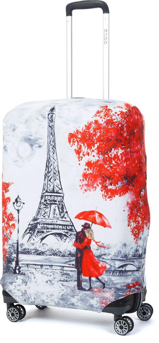 Чехол для чемодана Mettle Paris, размер M (высота чемодана: 65-75 см)LK-21000072Модный универсальный чехол для чемодана METTLE, подходит для средних чемоданов размера М (высота: 65-75 см, ширина: 40-46 см, глубина: 25-32 см). Он выполнен из спандекса. Эластичная ткань со специальной UF-водоотталкивающей пропиткой лучше защитит ваш чемодан от грязи и солнечных лучей. Картинка чехла надолго останется яркой и красочной. Две боковые потайные молнии, усиленные дополнительными швами, предохраняют боковые стороны и ручки чемодана от царапин и легких повреждений. Резинка с удобной соединяющей застёжкой надёжно фиксирует чехол на чемодане. Нижняя молния имеет автоматический замок бегунка. В швы багажного чехла дополнительно вшит эластичный жгут для лучшей усадки и фиксации на чемодан. Вся фурнитура изготовлена в фирменном дизайне METTLE.Чехол упакован в функциональный мешочек из аналогичной ткани, который вы сможете использовать для хранения и переноски предметов небольшого размера.