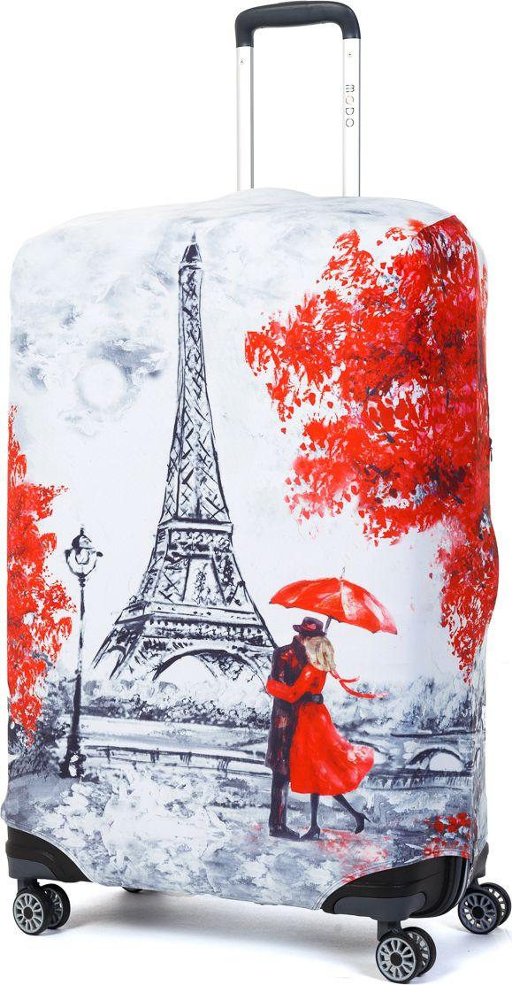 Чехол для чемодана Mettle Paris, размер L (высота чемодана: 75-82 см)LK-21000073Модный универсальный чехол для чемодана METTLE, подходит для больших чемоданов размера L и даже XL (высота: 75-82 см, ширина: 46-54 см, глубина: 29-36 см). Он выполнен из спандекса. Эластичная ткань со специальной UF-водоотталкивающей пропиткой лучше защитит ваш чемодан от грязи и солнечных лучей. Картинка чехла надолго останется яркой и красочной. Две боковые потайные молнии, усиленные дополнительными швами, предохраняют боковые стороны и ручки чемодана от царапин и легких повреждений. Резинка с удобной соединяющей застёжкой надёжно фиксирует чехол на чемодане. Нижняя молния имеет автоматический замок бегунка. В швы багажного чехла дополнительно вшит эластичный жгут для лучшей усадки и фиксации на чемодан. Вся фурнитура изготовлена в фирменном дизайне METTLE.Чехол упакован в функциональный мешочек из аналогичной ткани, который вы сможете использовать для хранения и переноски предметов небольшого размера.