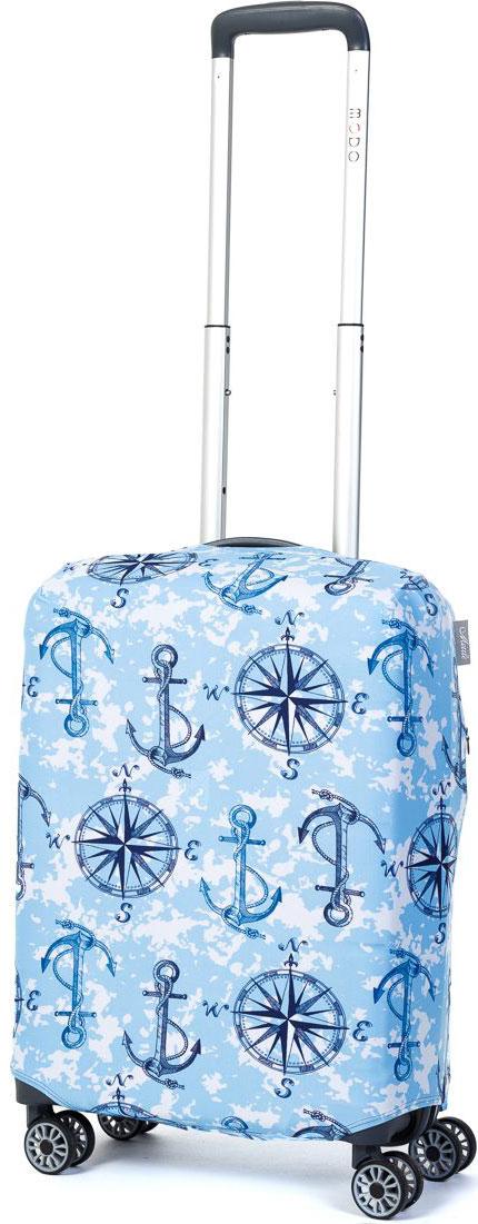 Чехол для чемодана Mettle Sea Ankor, размер S (высота чемодана: 50-55 см)LK-21000074Модный универсальный чехол для чемодана METTLE, подходит для чемоданов ручной клади размера S (высота: 50-55 см, ширина: 35-40 см, глубина: 20-25 см). Он выполнен из спандекса. Эластичная ткань со специальной UF-водоотталкивающей пропиткой лучше защитит ваш чемодан от грязи и солнечных лучей. Картинка чехла надолго останется яркой и красочной. Две боковые потайные молнии, усиленные дополнительными швами, предохраняют боковые стороны и ручки чемодана от царапин и легких повреждений. Резинка с удобной соединяющей застёжкой надёжно фиксирует чехол на чемодане. Нижняя молния имеет автоматический замок бегунка. В швы багажного чехла дополнительно вшит эластичный жгут для лучшей усадки и фиксации на чемодан. Вся фурнитура изготовлена в фирменном дизайне METTLE.Чехол упакован в функциональный мешочек из аналогичной ткани, который вы сможете использовать для хранения и переноски предметов небольшого размера.