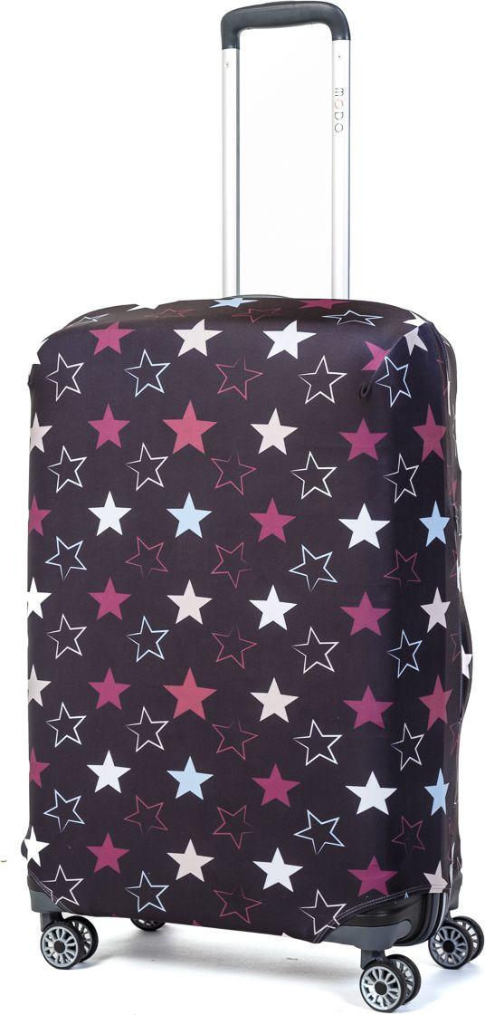 Чехол для чемодана Mettle Star, размер M (высота чемодана: 65-75 см)LK-21000078Модный универсальный чехол для чемодана от компании METTLE, подходит для средних чемоданов размера М (высота: 65-75СМ, ширина: 40-46СМ, глубина: 25-32СМ). Эластичная ткань со специальной UF-водоотталкивающей пропиткой лучше защитит ваш чемодан от грязи и солнечных лучей. Картинка чехла надолго останется яркой и красочной. Две боковые потайные молнии, усиленные дополнительными швами, предохраняют боковые стороны и ручки чемодана от царапин и легких повреждений. Резинка с удобной соединяющей застёжкой надёжно фиксирует чехол на чемодане. Нижняя молния имеет автоматический замок бегунка. В швы багажного чехла дополнительно вшит эластичный жгут для лучшей усадки и фиксации на чемодан. Вся фурнитура изготовлена в фирменном дизайне METTLE.Дополнительно мы упаковали чехол для чемодана METTLE в функциональный мешочек из аналогичной ткани, который вы сможете использовать для хранения и переноски предметов небольшого размера. Забудьте об одноразовой багажной плёнке, чехол для чемодана METTLE