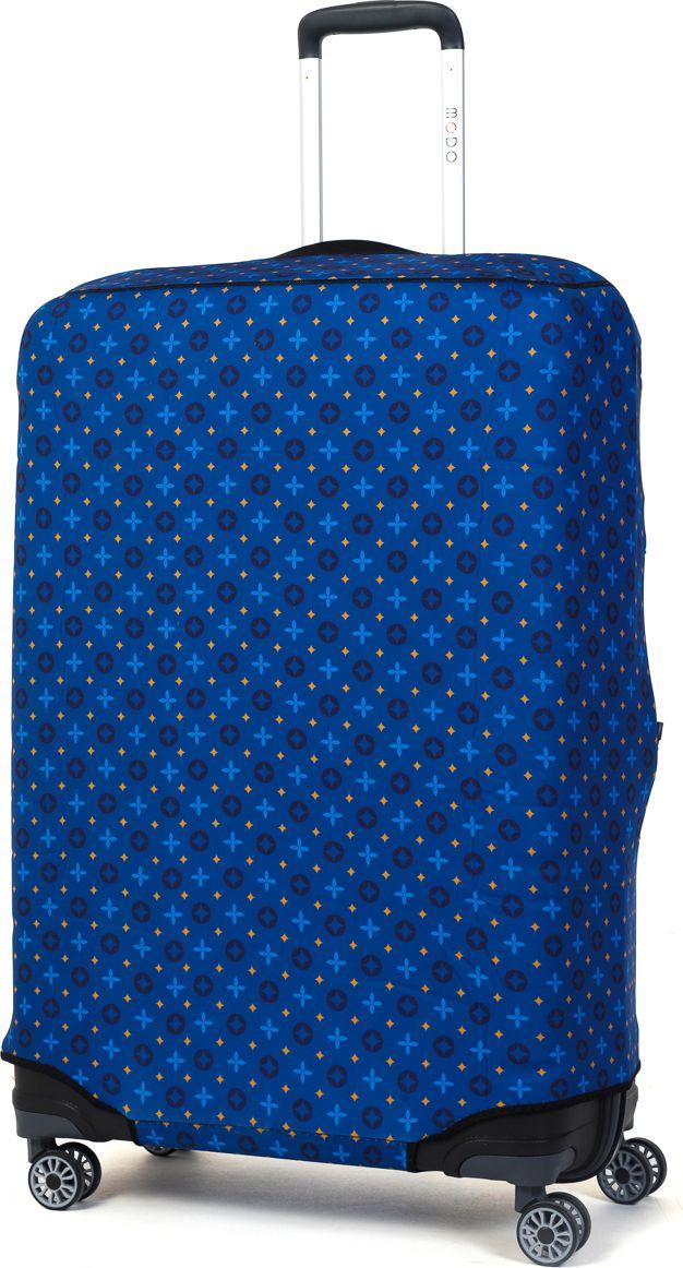 Чехол для чемодана Mettle  Blue , размер L (высота чемодана: 80-85 см) - Чемоданы и аксессуары