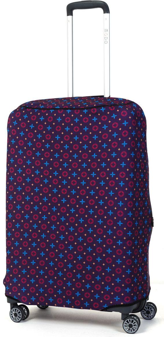 Чехол для чемодана Mettle  Violet , размер M (высота чемодана: 70-75 см) - Чемоданы и аксессуары