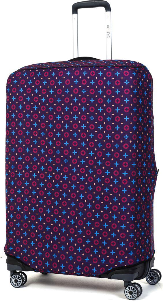 Чехол для чемодана Mettle  Violet , размер L (высота чемодана: 80-85 см) - Чемоданы и аксессуары