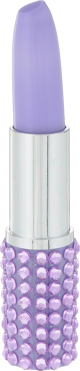 Шариковая ручка Brunnen  Губная помада - оригинальный подарок для стильной девочки.Шариковая ручка Brunnen выполнена в сиреневом цвете со стразами. Такой стильный аксессуар отлично поместиться в любую сумочку. Такой забавный письменный аксессуар идеально лежит в руке и подарит массу удовольствия во время письма или рисования.