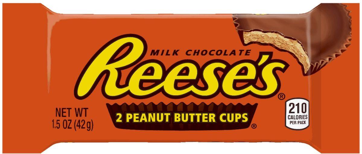 Reeses корзинки шоколадные, 42 г1Шоколадные корзинки Reeses обладают прекрасным сочетанием вкуса соленого арахиса и молочного шоколада. Оригинальный вкус, не оставит никого равнодушным, как взрослым, так и детям!