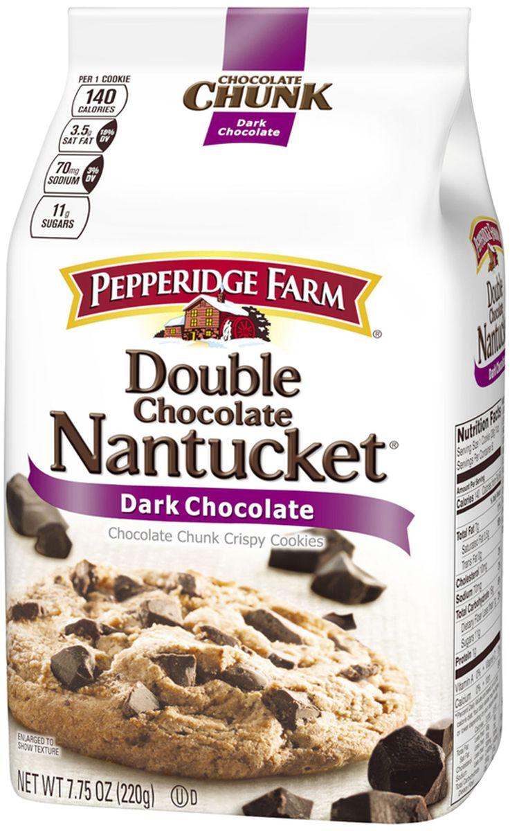 Pepperidge Farm печенье с кусочками шоколада - нантакет, 204 г134Печенье Pepperidge Farm с кусочками шоколада обладает отличным вкусом, понравится как детям, так и взрослым, изготовлено из натуральных ингредиентов.