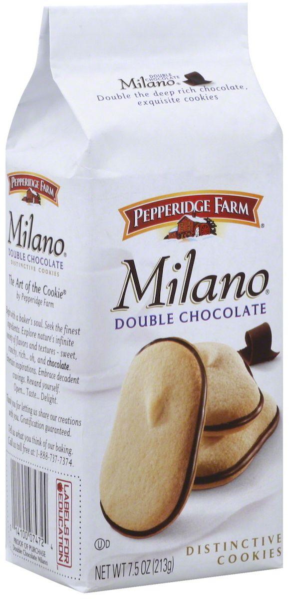 Pepperidge Farm печенье - милано, 170 г137Печенье Pepperidge Farm Милано - вкусное печенье с шоколадной начинкой, мягкое по структуре.
