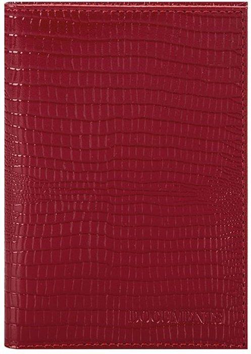 """Бумажник водителя женский Fabula """"Reptile"""", цвет: красный. BV.1.KK"""