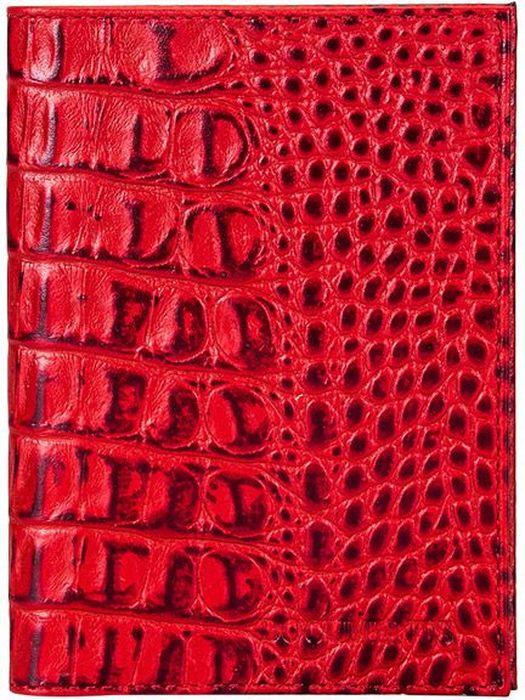 Бумажник водителя женский Fabula Caiman, цвет: красный. BV.1.KM