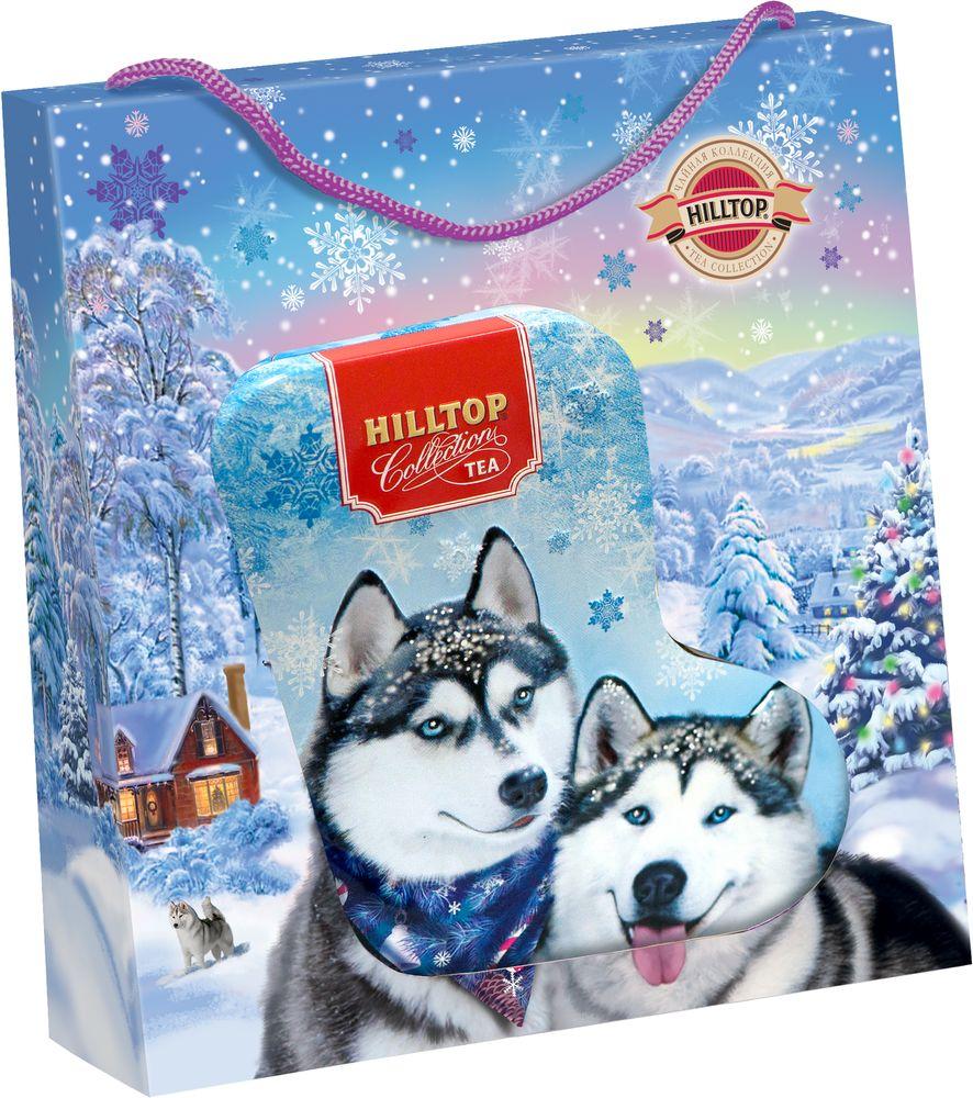 Hilltop Снежные хаски чай черный листовой Эрл Грей, 80 г4607099308701_НГ