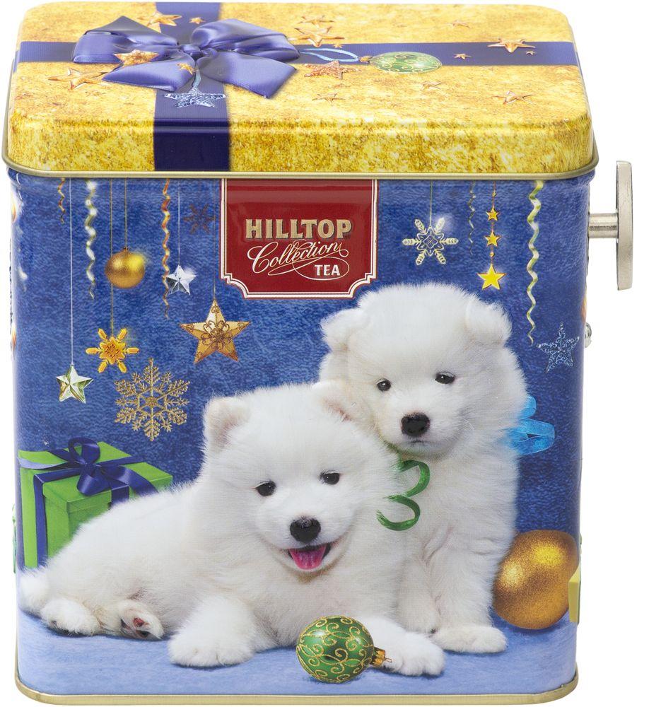 Hilltop Белоснежные щенки чай черный листовой Подарок Цейлона, 100 г4607099308725_НГ