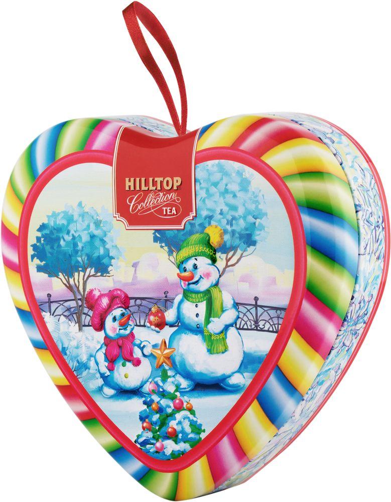 Hilltop Румяные снеговики чай листовойВолшебный снегопа Молочный оолонг, 50 г4607099308213_НГ