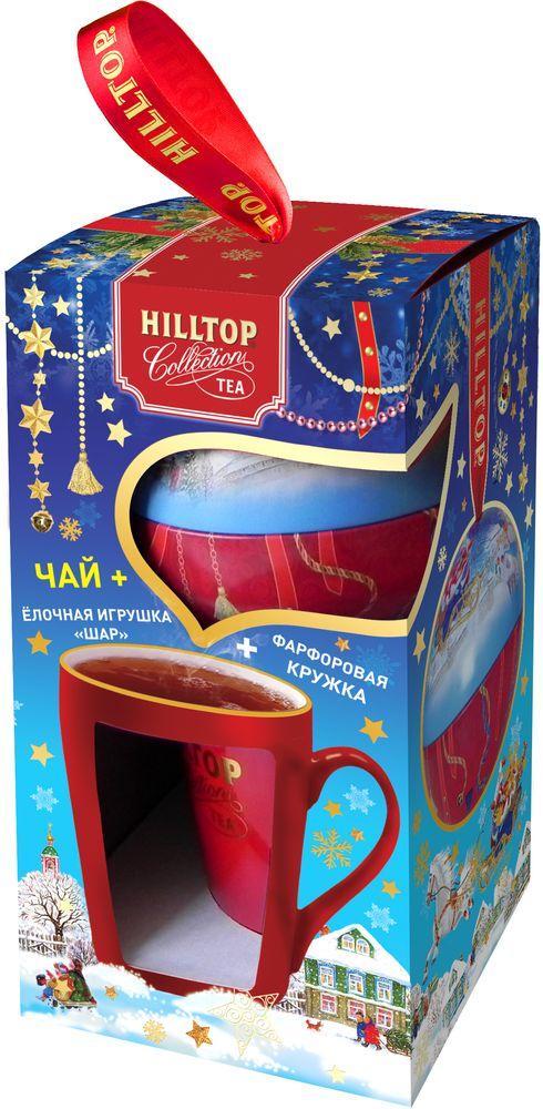 Hilltop Набор Русская сказка чай черный листовой подарок Цейлона с кружкой, 80 г4607099308466_НГ