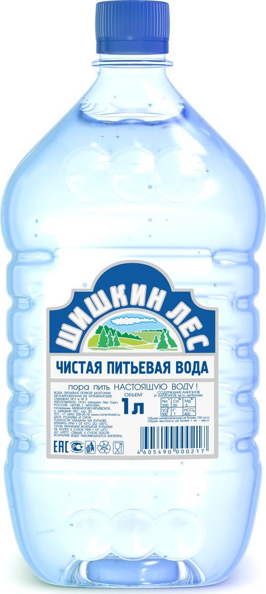 Шишкин лес вода питьевая, 1 л4605490000217