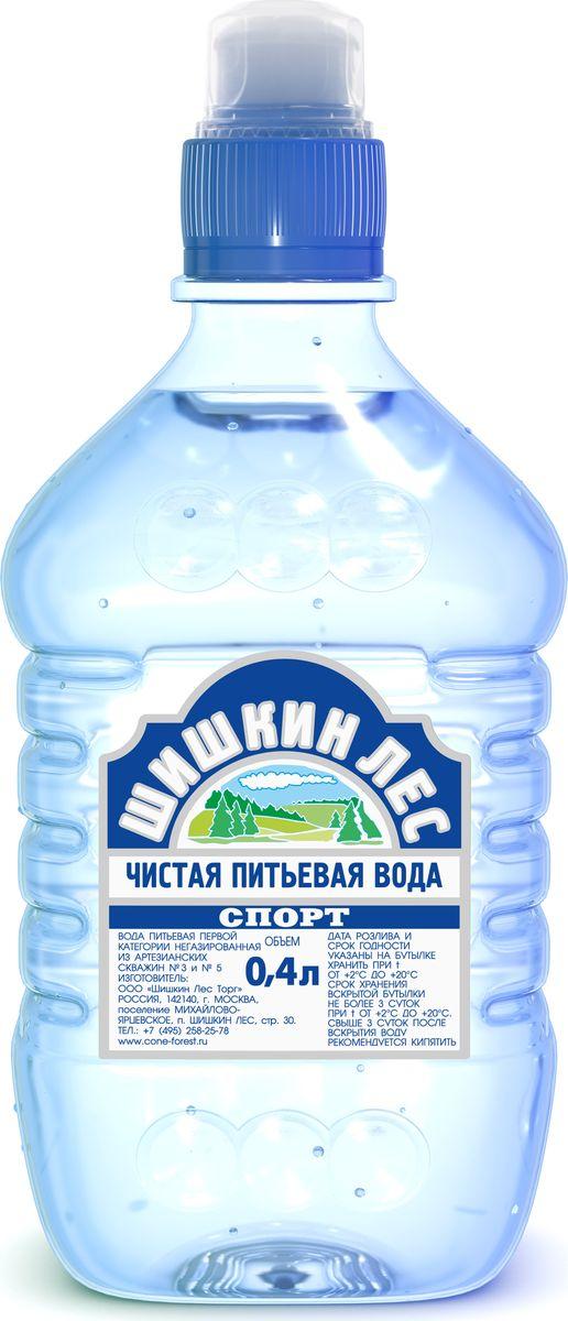 Шишкин лес вода питьевая Sport, 0,4 л4605490000279