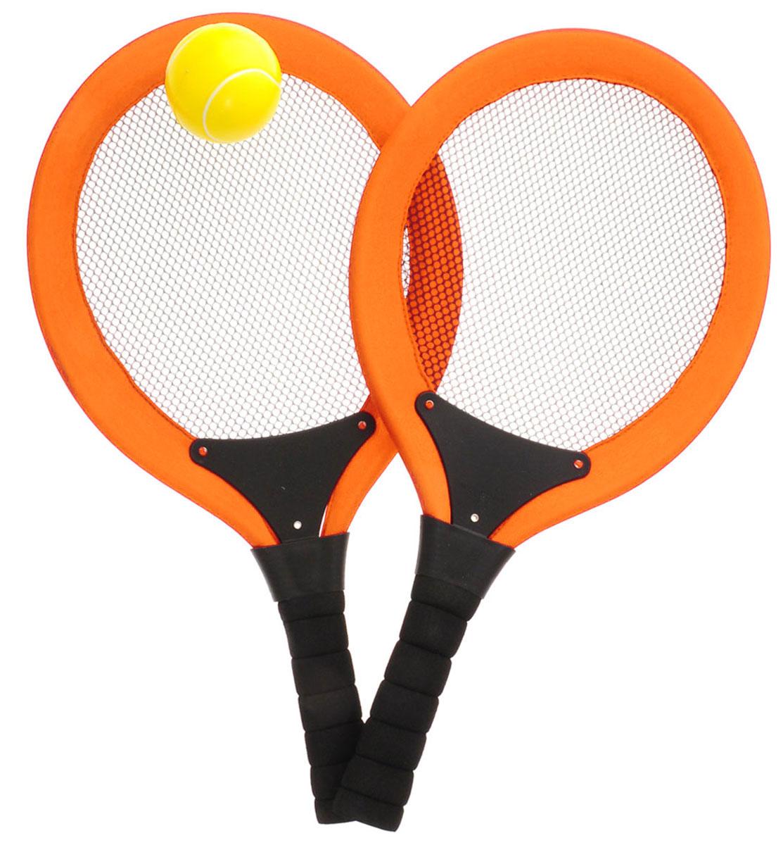 ABtoys Игровой набор Теннис цвет оранжевый