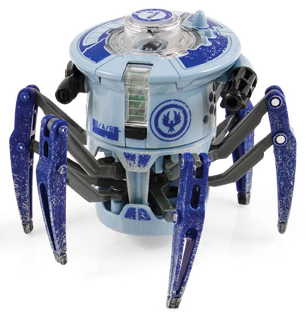 HexBug Микро-робот на инфракрасном управлении Боевой Спайдер цвет синий