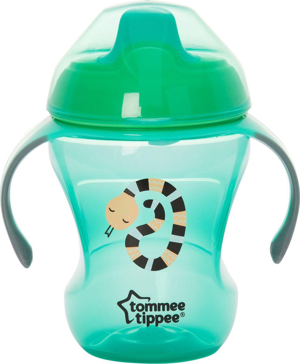 Tommee Tippee Чашка Explora Easy Drink цвет голубой -  Поильники