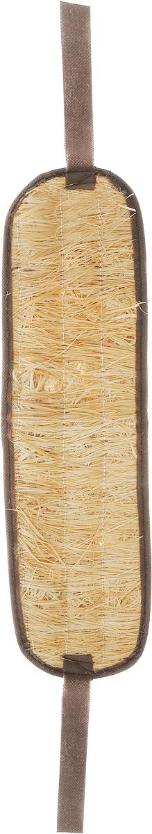 Мочалка Eva, лыковая, с ручками, цвет: бежевый, коричневый, 42 х 10 смМ20_бежевый, коричневыйПри изготовлении мочалки Eva используется натуральный природный материал - обработанный внутренний слой коры липы. При использовании мочалки волокна лыка выделяют фитонциды - лучшее средство для профилактики простудных заболеваний. Лыковая мочалка - стопроцентно природный и экологически чистый аксессуар для ухода за вашей кожей.