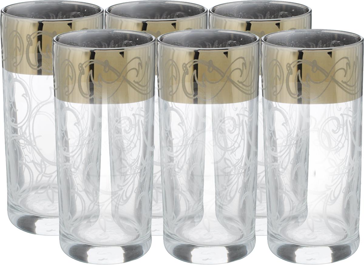 Набор стаканов Гусь Хрустальный Шарм, 290 мл, 6 шт402/04Набор Гусь Хрустальный Шарм состоит из шести стаканов, выполненных из прочного натрий-кальций-силикатного стекла. Прекрасно подходят для сока, воды, коктейлей и других напитков. Качество изготовления, сверкающий блеск и неповторимый дизайн сделают этот набор незаменимым на вашей кухне. Можно мыть в посудомоечной машине или вручную с использованием моющих средств, не содержащих абразивных материалов.Диаметр стакана (по верхнему краю): 6 см. Высота стакана: 13,5 см.