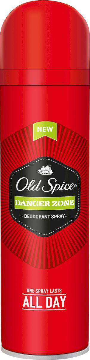 Old Spice Дезодорант-спрей Danger Zone, 150 млOS-81270093Один пшик - весь день мужикДля мужчин, довольно ухмыляющихся в лицо опасности, смеющихся над неприятностями и откровенно ржущих над превратностями судьбы. Дезодорант Old Spice Danger Zone подарит тебе аромат отваги пилота-испытателя за штурвалом реактивного самолета, сделанного из взрывчатки! Old Spice предлагает большой выбор дезодорантов для мужчин, которые знают толк в хороших ароматах и живут яркой и необычной жизнью. Забудь про неприятный запах, источай аромат мужественности. Аромат отваги.