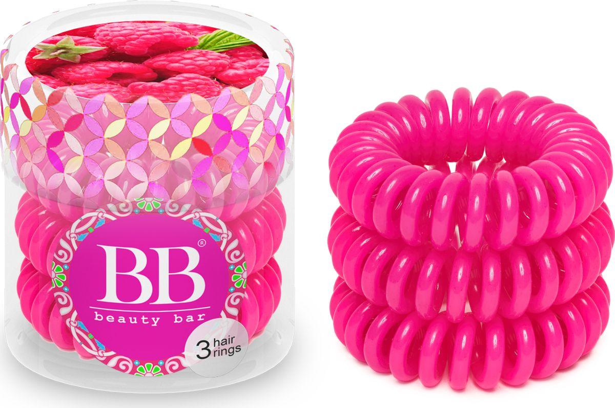Резинка для волос Beauty Bar, цвет: малиновый резинка спиралька для волос